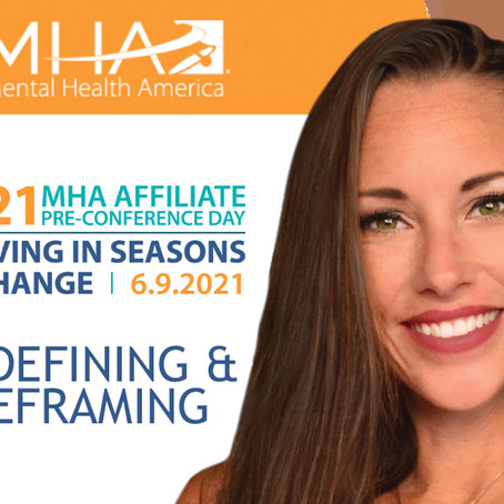 MHA's Chief Brand Officer Presents at Mental Health America National Convention 2021