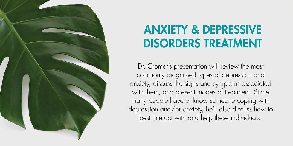 Health Talk - Anxiety & Depressive Disorders Treatment