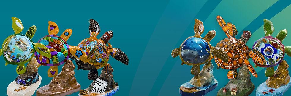 MHA Turtle Sculptures