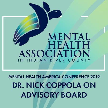 Dr. Nick Coppola on Advisory Board for Mental Health America Conference 2019