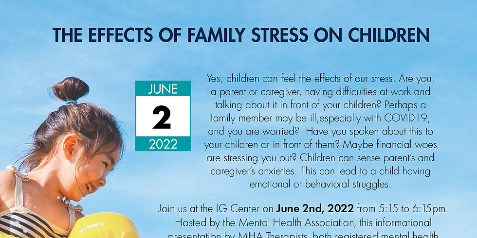 Health Talk - The Effects of Family Stress on Children