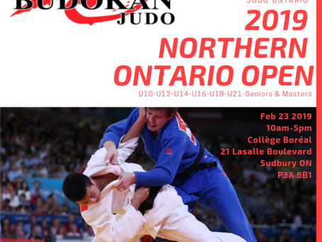 2019 Northern Ontario Open is Coming Up!