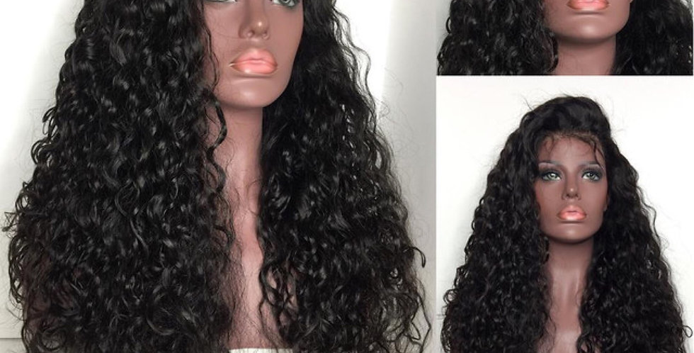 Loose Curl Lace Frontal Wig