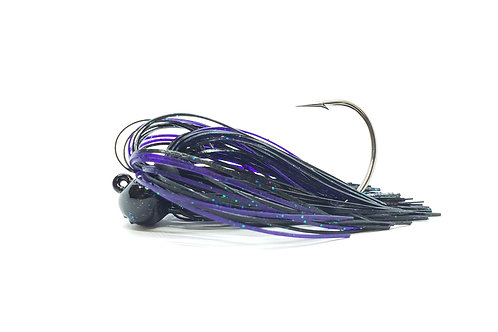 NeX Football Jig - Black Bug