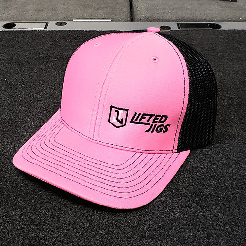 Lifted Jigs Logo Pink Hat