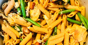Chicken Vegetable Stir-fry Pasta: 2 ways!