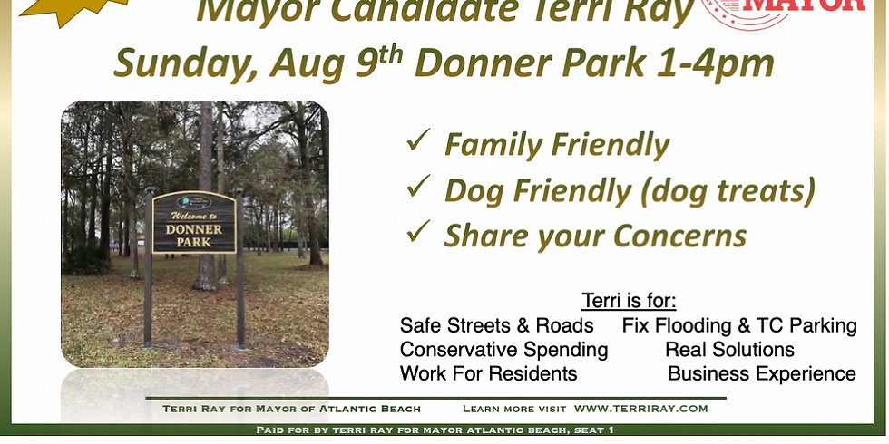 Meet Terri Ray at Donner Park