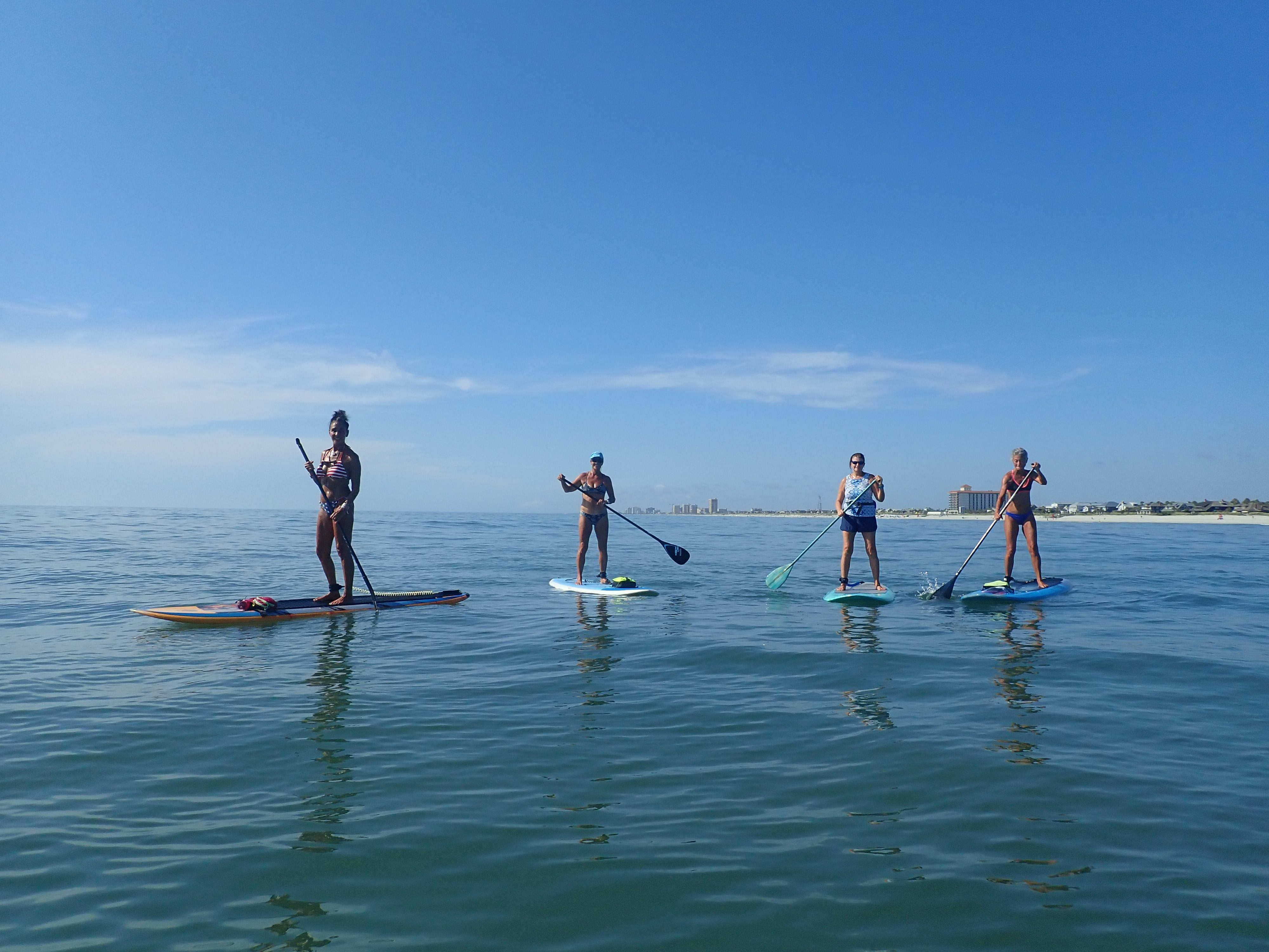 "Some of the ""AB SUP Sisters"""