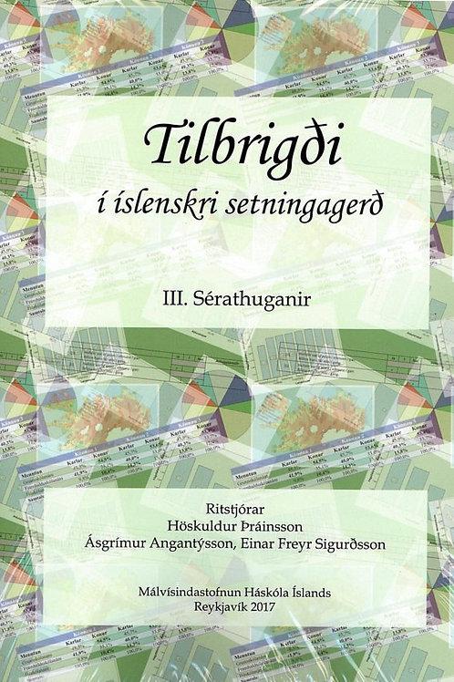 Tilbrigði III