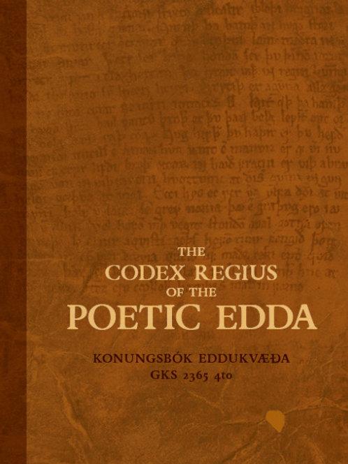 The Codex Regius of the Poetic Edda