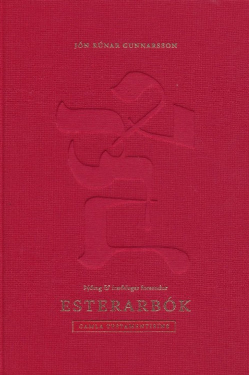 Esterarbók