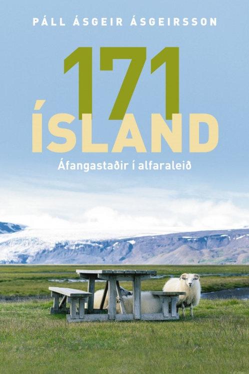 171 Ísland áfangastaðir í alfaraleið