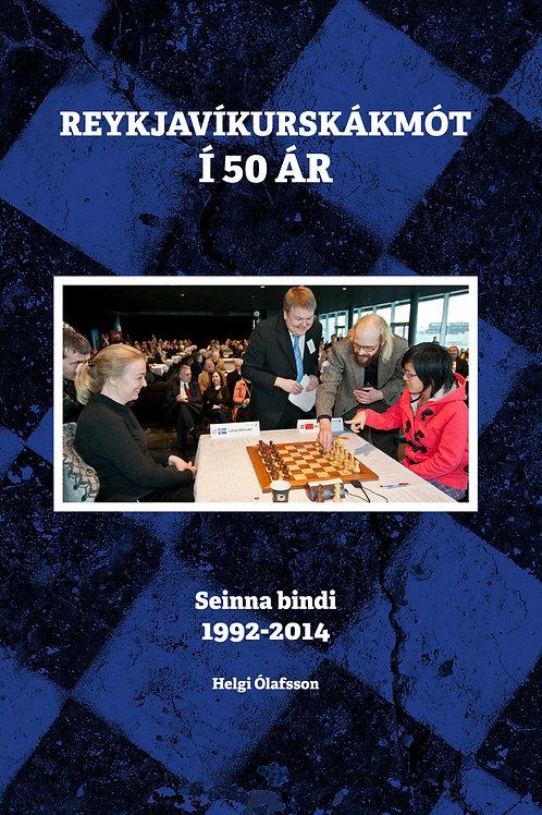 Reykjavíkurskákmót í 50 ár 2. b.