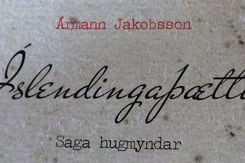 Íslendingaþættir - saga hugmyndar