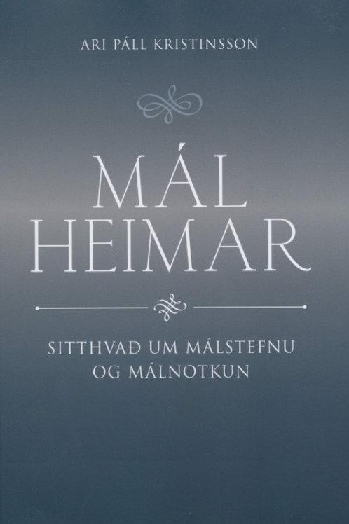 Málheimar – sitthvað um málstefnu og málnotkun