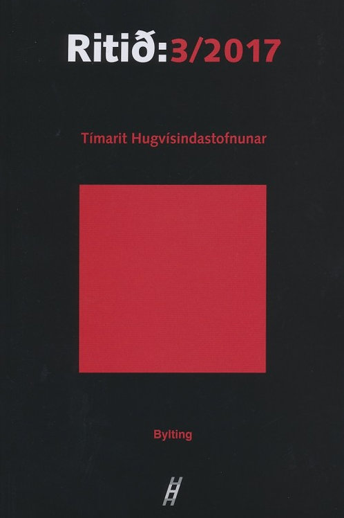 Ritið 3/2017  - Bylting