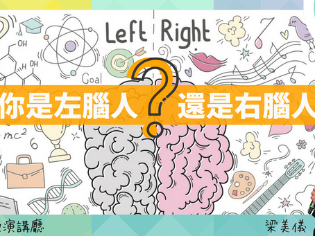 波波教授演講廳:你是左腦人還是右腦人?