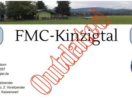 Aufbau der neuen Website des FMC Kinzigtal