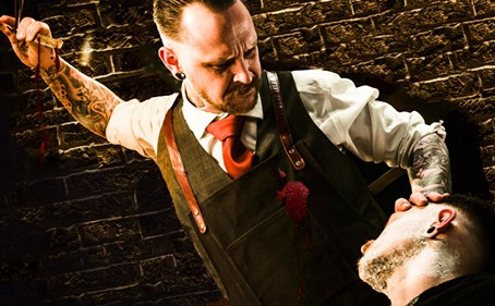 Attend the tale of Sweeney Todd...
