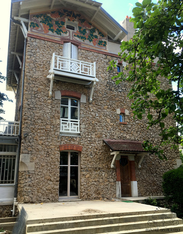 "Restauration ""Villa les Roches"""