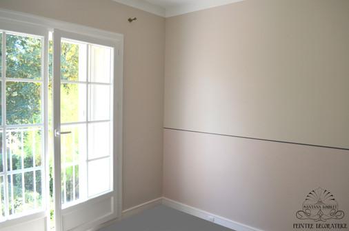Une chambre très élégante