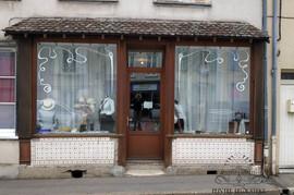 Décor pour la boutique d'une couturière costumière