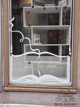 Décor pour une librairie, tabac, presse