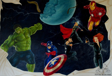 "Panoramique ""the avengers"""