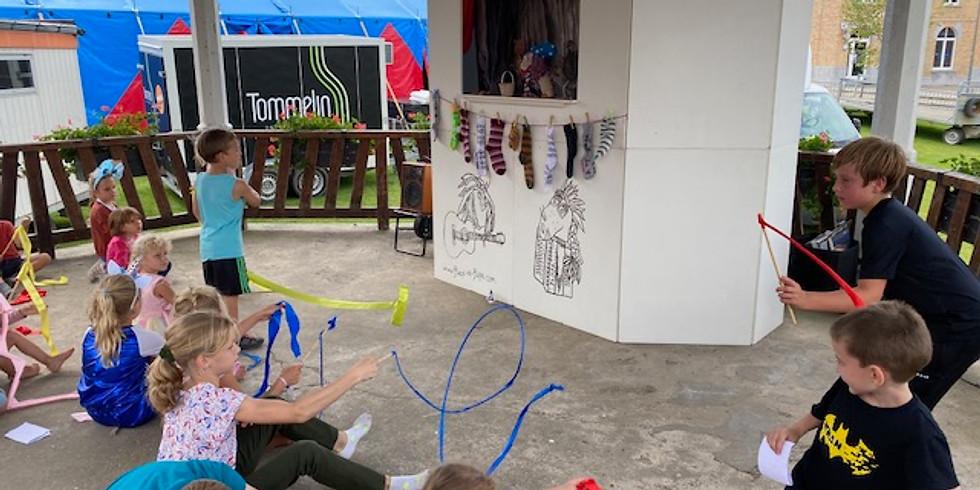 workshop & POPPENKAST op Kermis