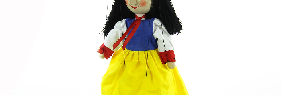 Wooden Puppet Snow White