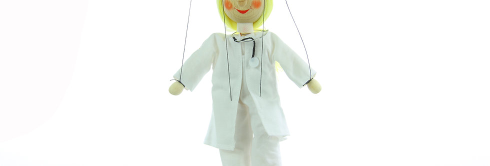 Wooden Puppet Doctor