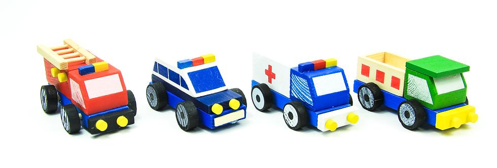 Wooden Car Block Set