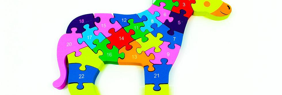 Puzzle Horse