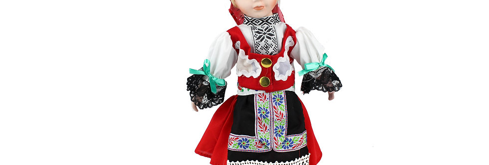 Porcelain Doll Traditional Dress 31cm
