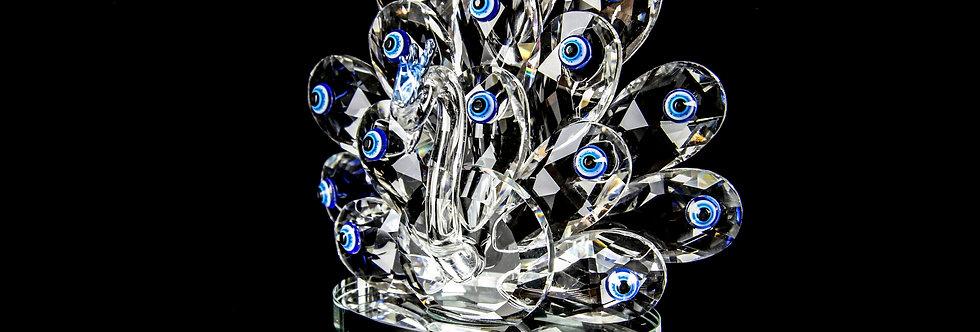 Decorative Crystal - Peafowl (Medium)