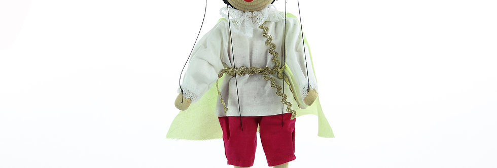 Wooden Puppet Prince