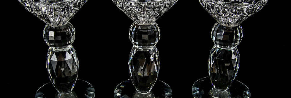 Decorative Crystal - Candle Stand (Small)
