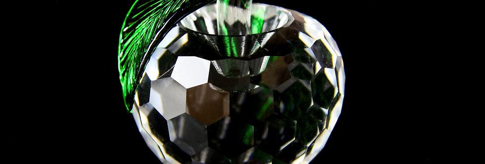 Decorative Crystal - Apple (Medium)