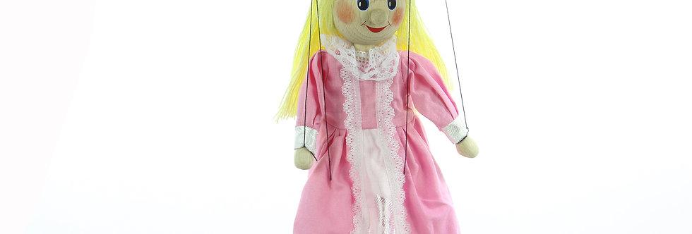 Wooden Puppet Princess