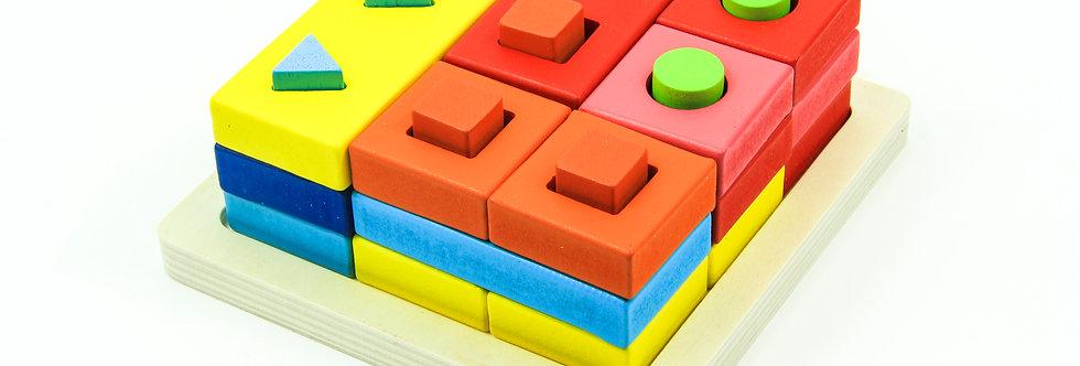 Educational Shape Chunky Puzzle