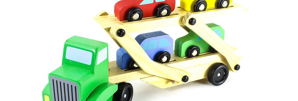 Wooden Folding Car Transporter
