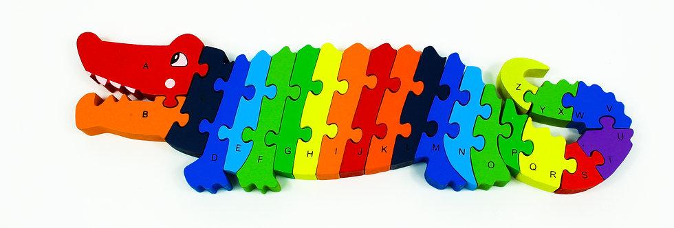 Puzzle Crocodile