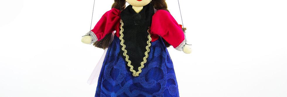Wooden Puppet Anna