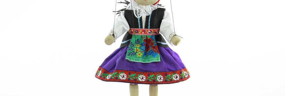 Wooden Puppet Krojacka
