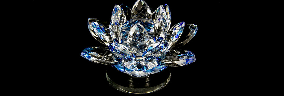 Decorative Crystal - Lotus Flower (Small)