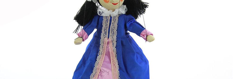Wooden Puppet Queen