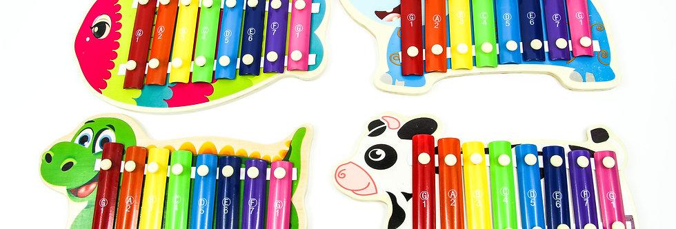 Wooden animals xylophone