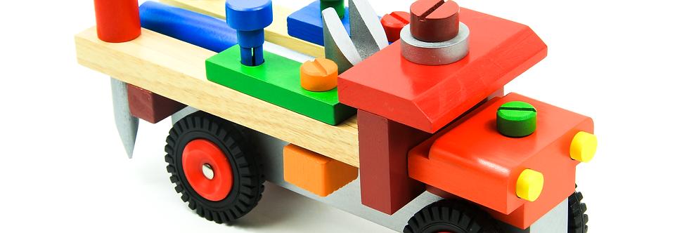 Wooden DIY Truck