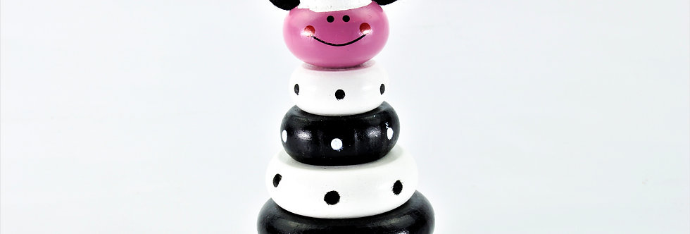 "Stacking Tower ""Cow"""