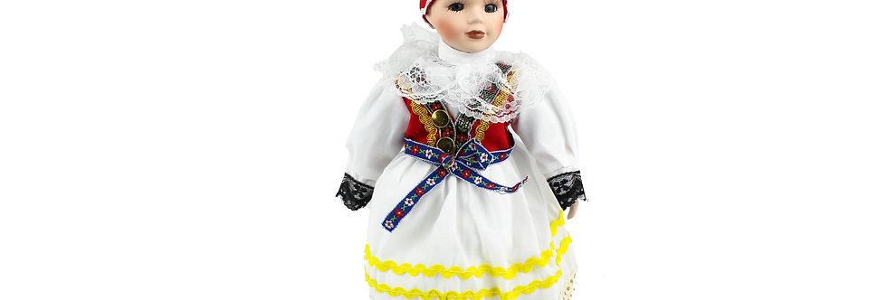 Porcelain Doll Traditional Dress 31cm